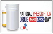 Dispose of surplus pills on Saturday at the Main Gate
